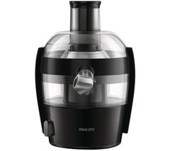 PHILIPS Viva HR1832/01 Juicer - Black Best Price, Cheapest Prices