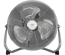"""LOGIK L14FFS15 14"""" Turbo Fan - Silver"""