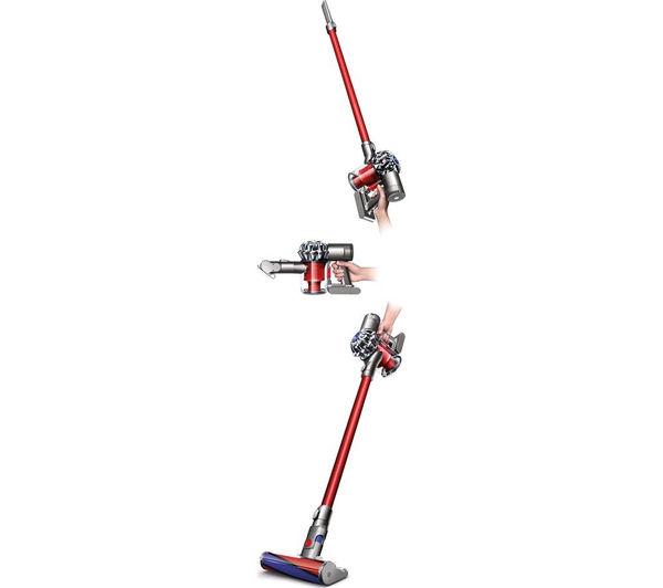 Buy Dyson V6 Total Clean Cordless Vacuum Cleaner Nickel