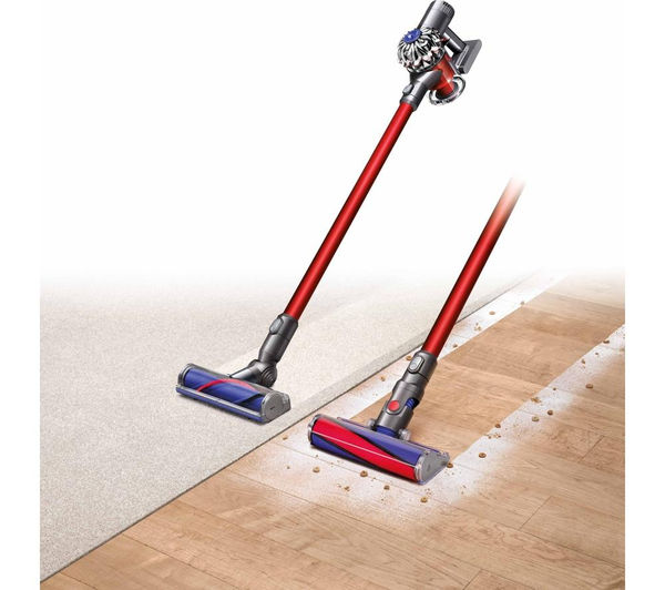 buy dyson v6 total clean cordless vacuum cleaner nickel