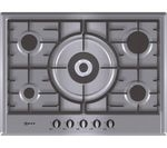NEFF T25S56N0GB Gas Hob - Stainless Steel