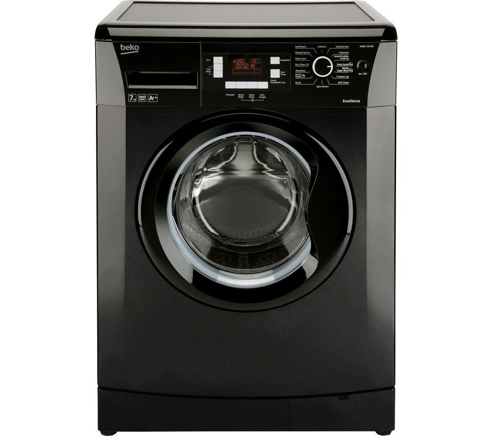 BEKO WMB714422B Washing Machine - Black