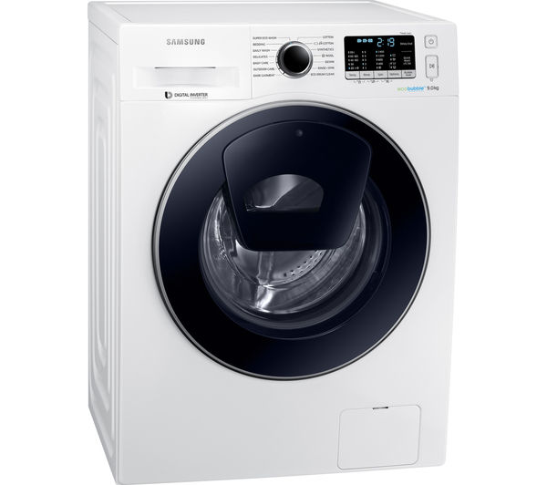 Buy SAMSUNG AddWash WW90K5410UW Washing Machine - White ...