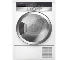 GRUNDIG GTN39250GCW Heat Pump Tumble Dryer - White