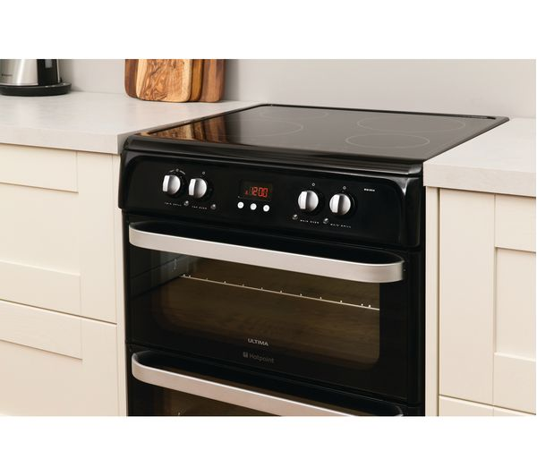 Hotpoint Hui614k Electric Induction Cooker Black