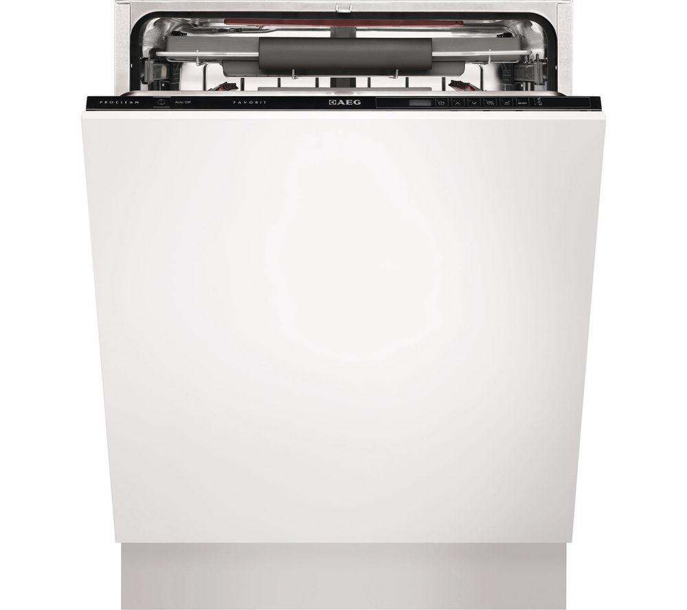 AEG F55700V10P Full-size Integrated Dishwasher