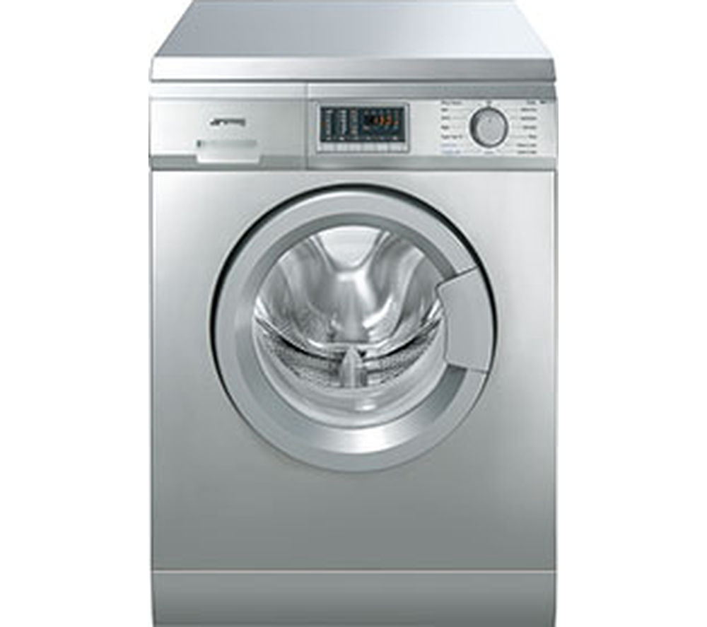 SMEG Washer Dryer WDF147X  – Stainless Steel, Stainless Steel