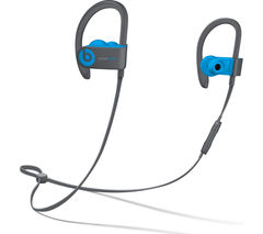 BEATS Powerbeats3 Wireless Bluetooth Headphones - Flash Blue