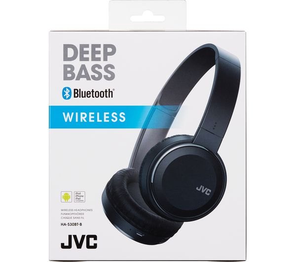 Buy JVC HA-S30BT-B-E Wireless Bluetooth Headphones - Black  9fa617b13d