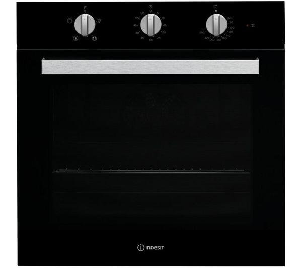 Image of INDESIT Aria IFW 6330 Electric Single Oven - Black