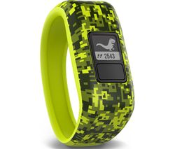 GARMIN vivofit Jr Children's Chore & Activity Tracker - Digi Camo Green