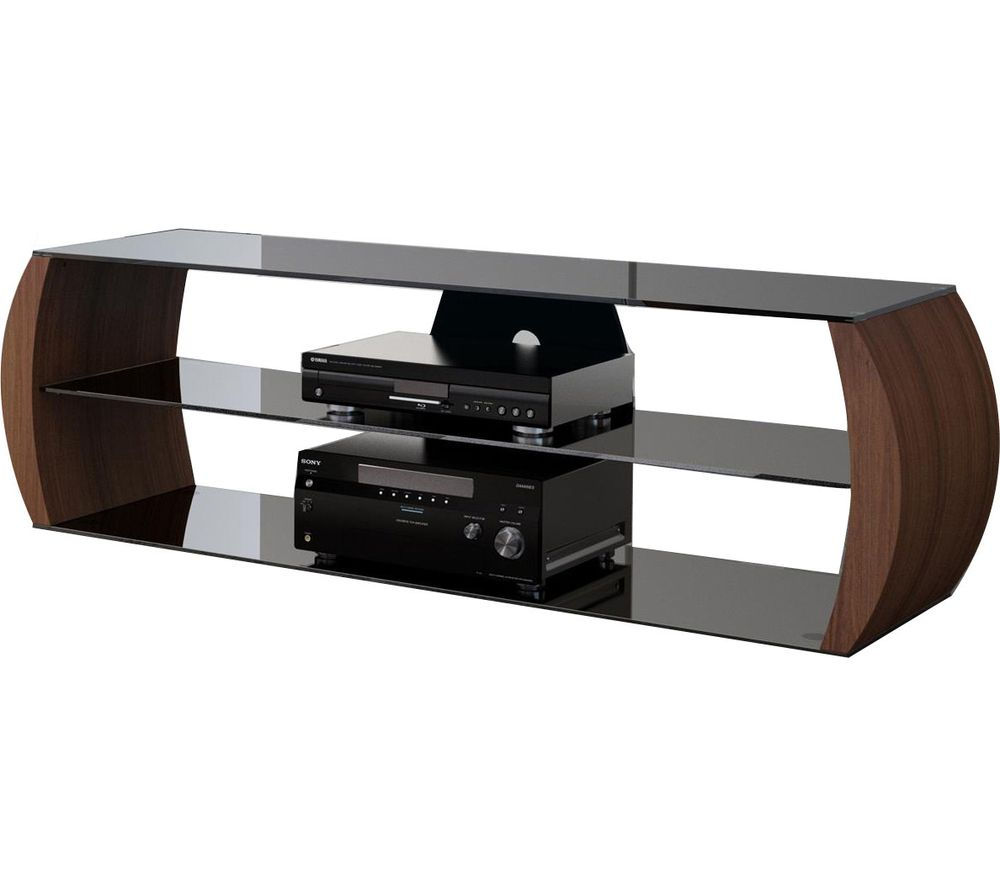 VIVANCO C1360W TV Stand - Walnut