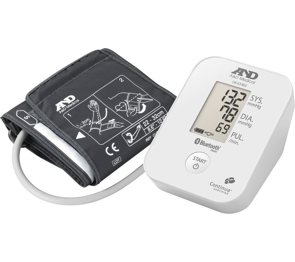 Compare prices for A and D Instruments UA-651BLE Upper Arm Blood Pressure Monitor
