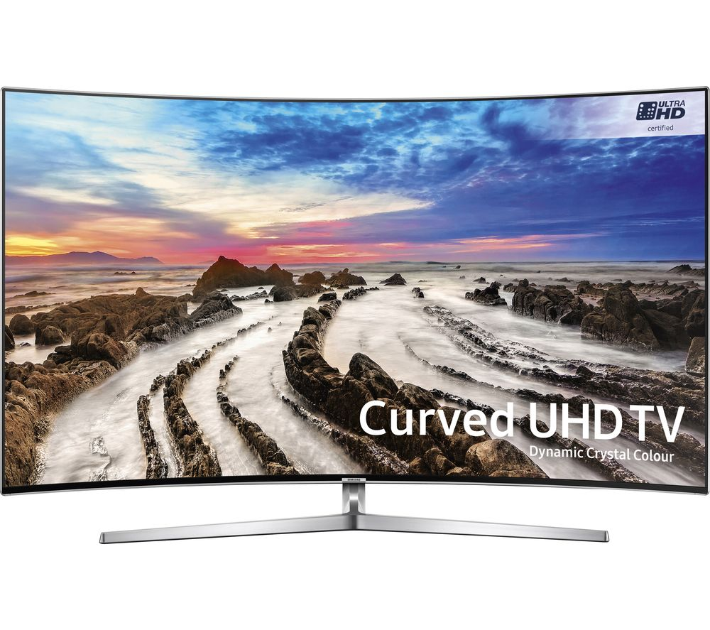 "SAMSUNG UE65MU9000 65"" 4K Ultra HD HDR Curved LED TV + SFLEZ14 Medium to Large Fixed TV Bracket"