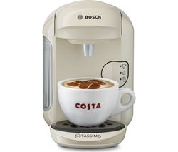 TASSIMO by Bosch Vivy2 TAS1407GB Hot Drinks Machine - Cream