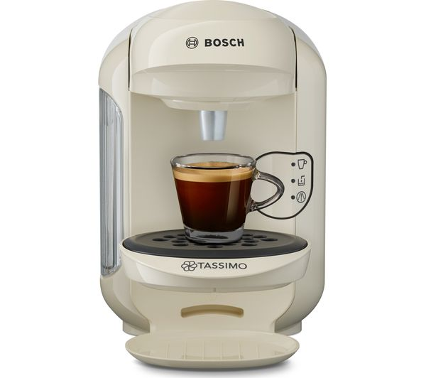 buy tassimo by bosch vivy2 tas1407gb hot drinks machine cream free delivery currys. Black Bedroom Furniture Sets. Home Design Ideas