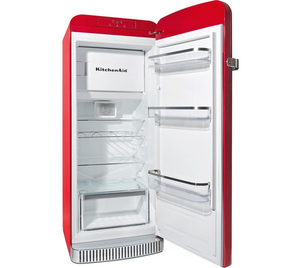 Bon KITCHENAID Iconic KCFME 60150R Tall Fridge   Right Hinge, Empire Red