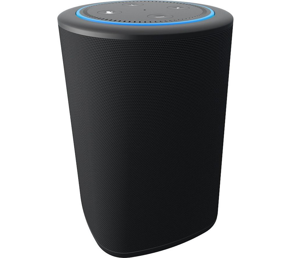 NINETY7 Vaux Speaker for Amazon Echo Dot - Black, Black