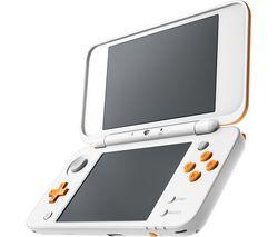 2DS XL - White & Orange