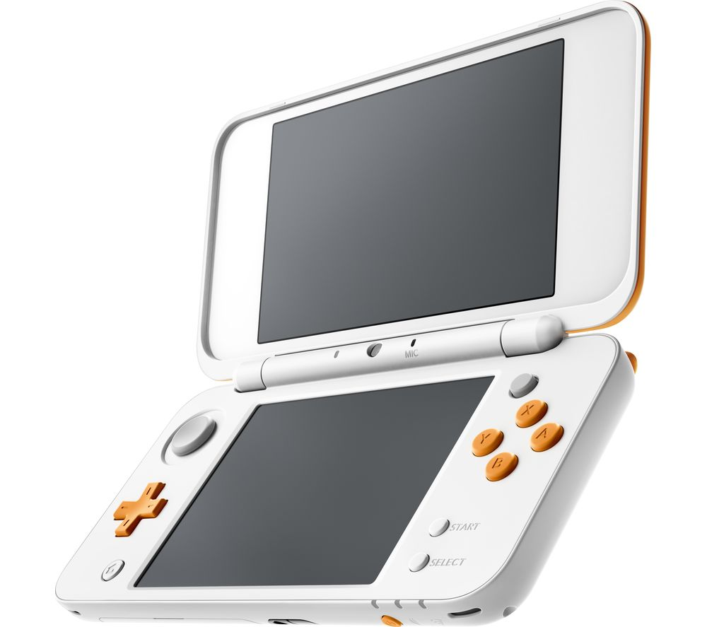 NINTENDO 2DS XL - White & Orange