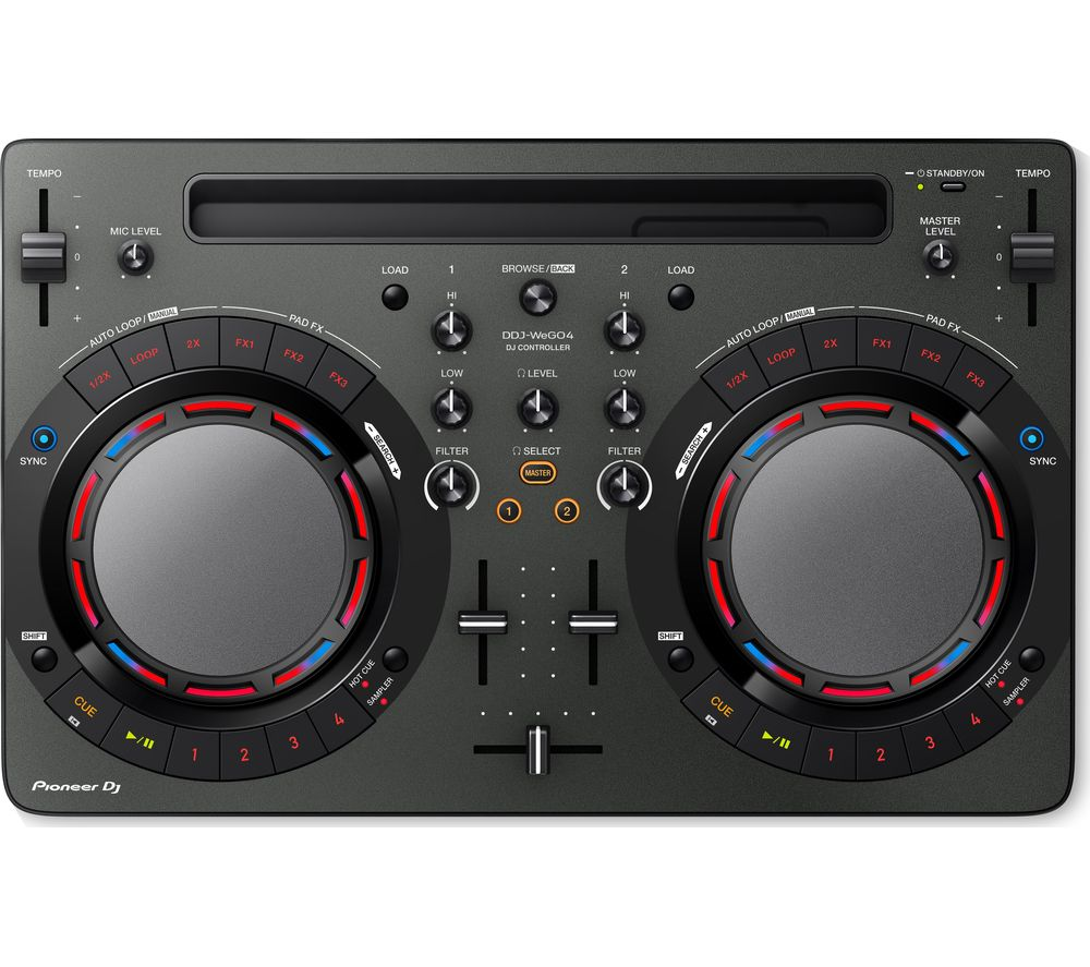 Compare retail prices of Pioneer DDJ-WEGO4 DJ Controller - Black to get the best deal online