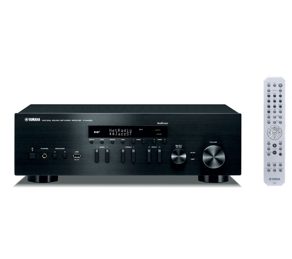 YAMAHA R-N402D Network Stereo Receiver – Black, Black