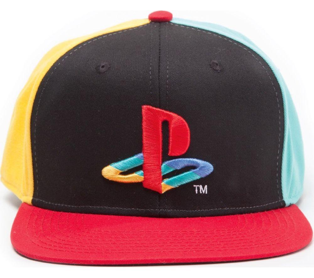 Compare prices for Playstation Original Logo Snapback Cap - Multicoloured