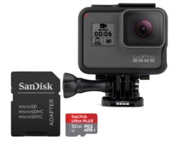 GOPRO HERO6 4K Ultra HD Action Camcorder - Black