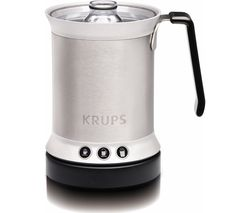 KRUPS XL200044 Electric Milk Frother - Stainless Steel