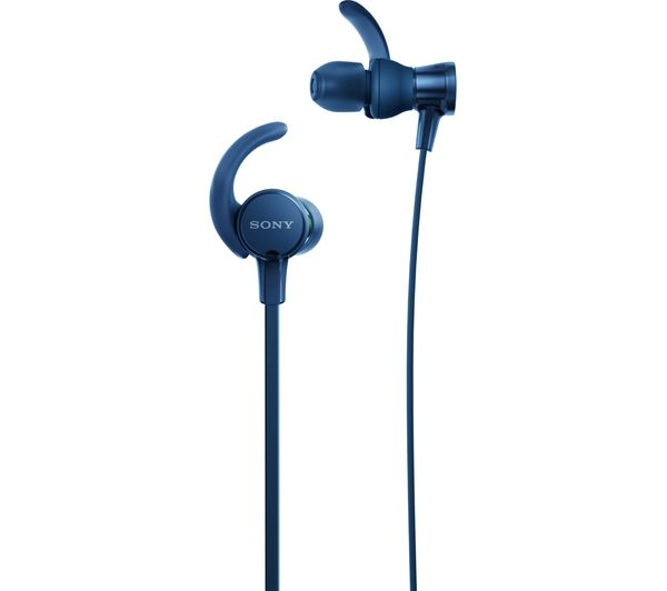 SONY EXTRA BASS Sports MDR-XB510AS Headphones - Blue