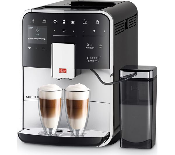 buy melitta caffeo barista ts f85 0 101 smart bean to cup coffee machine silver free. Black Bedroom Furniture Sets. Home Design Ideas