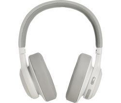 JBL E55BT Wireless Bluetooth Headphones - White