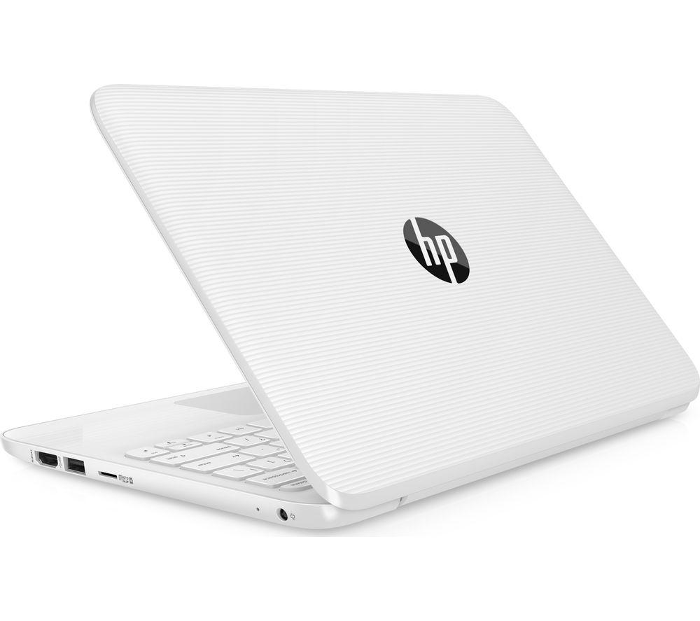 "Image of HP Stream 11-y054sa 11.6"" Intel® Celeron Laptop - 32 GB eMMC, White, White"