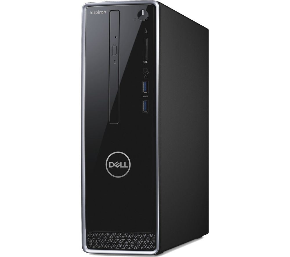 DELL Inspiron 3470 Intel® Core™ i5 Desktop PC - 1 TB HDD & 128 GB SSD, Grey