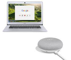 "ACER CB3-431 14"" Intel® Celeron® Chromebook - 32 GB eMMC, Silver"