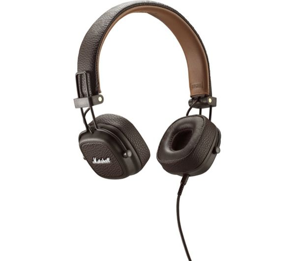 Image of MARSHALL Major III Headphones - Brown