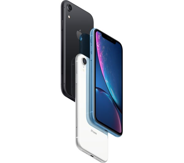APPLE iPhone XR - 64 GB, White Fast Delivery   Currysie
