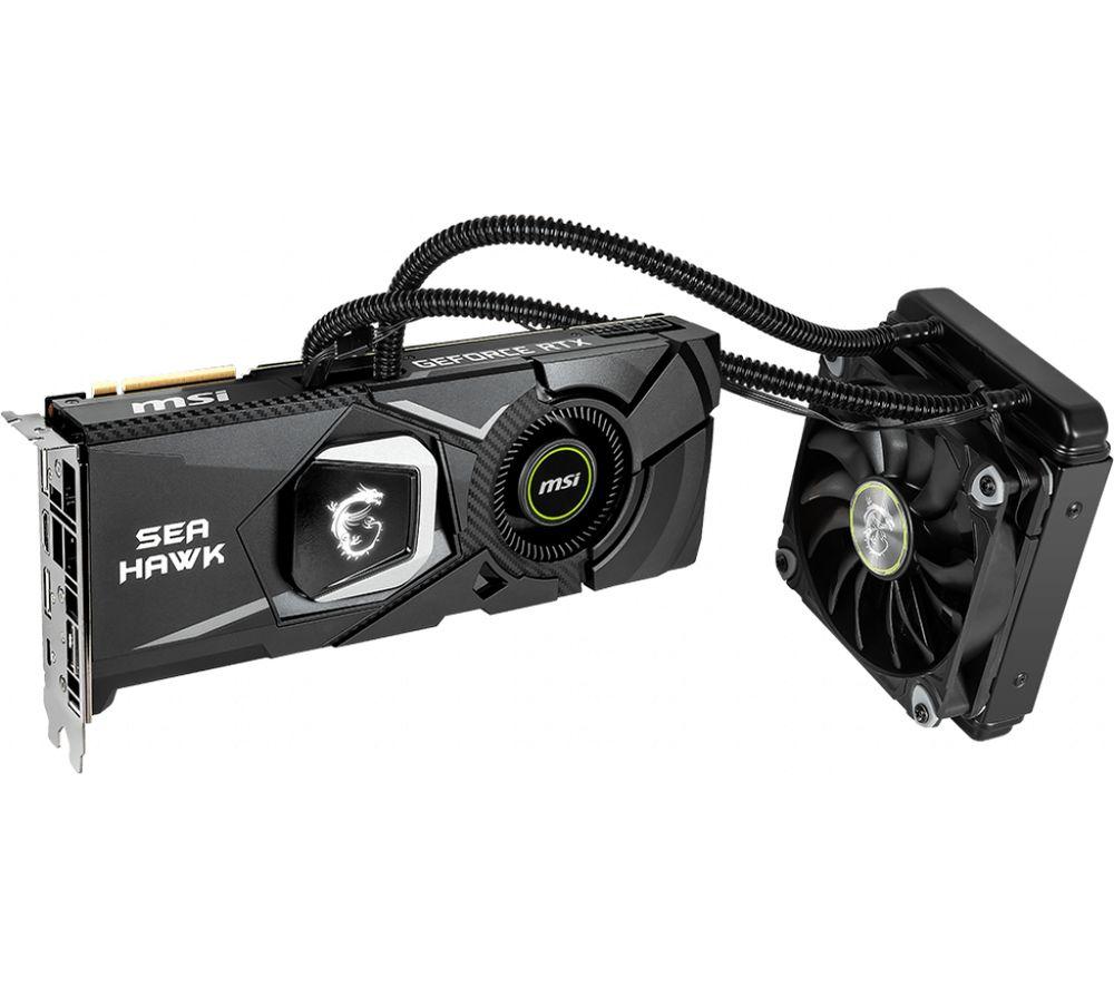 MSI GeForce RTX 2080 Ti 11 GB SEA HAWK X Graphics Card
