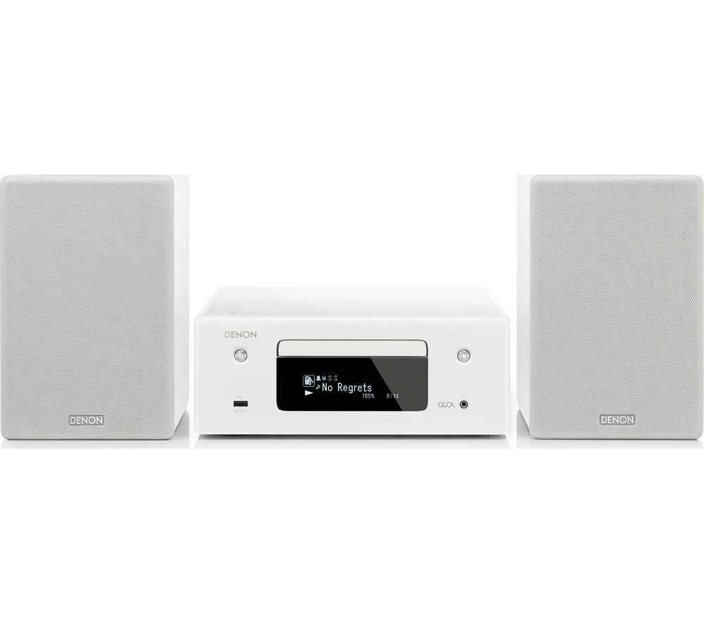 DENON CEOL N10 Wireless Smart Sound Hi-Fi System - White