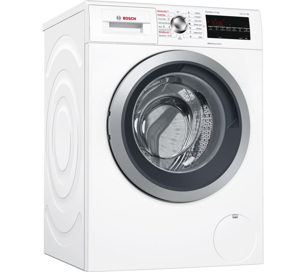 BOSCH Serie 6 WVG30462GB 7 kg Washer Dryer - White