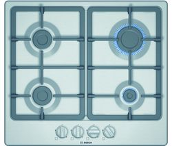 BOSCH Serie 4 PGP6B5B90 Gas Hob - Stainless Steel Best Price, Cheapest Prices