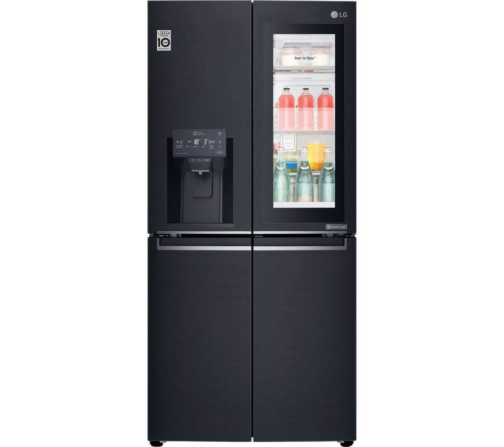 Lg Instaview Gmx844mckv Slim American Style Smart Fridge