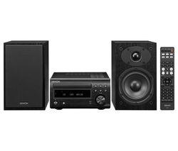 DM-41DAB Wireless Traditional Hi-Fi System - Black
