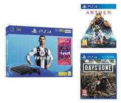 SONY PlayStation 4, FIFA 19, Anthem & Days Gone Bundle - 500 GB