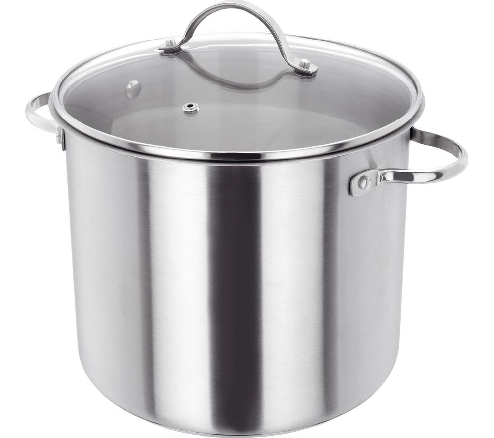 JUDGE Essentials PP314 24 cm Stockpot - Stainless Steel