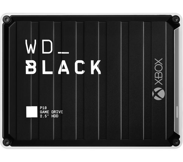 WD _BLACK P10 Game Drive for Xbox - 5 TB, Black