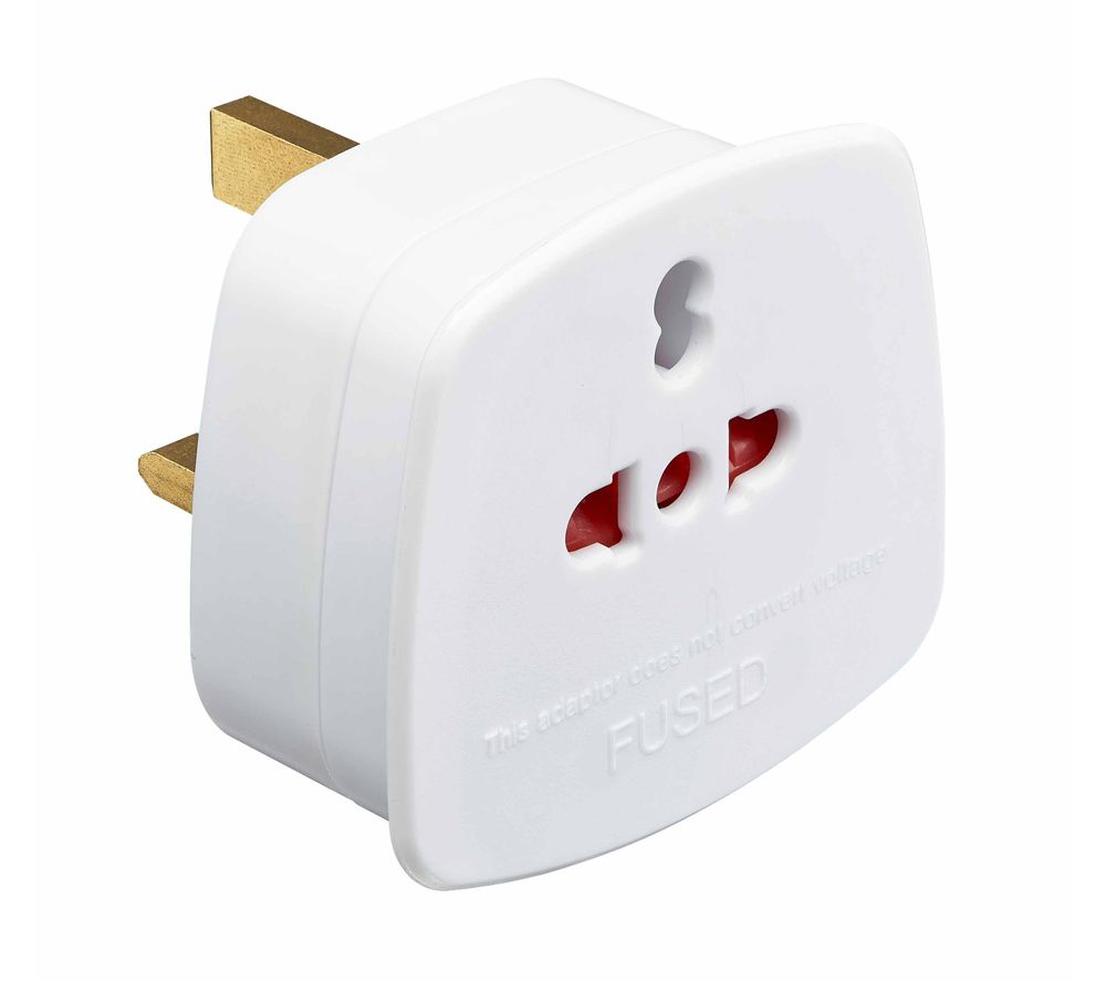 LOGIK LVISIT20 Worldwide to UK Travel Adapter