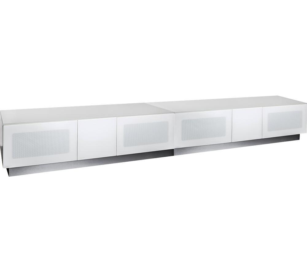 ALPHASON Element Modular 2500 mm TV Stand - White, White