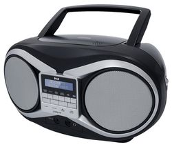 GROOV-E GV-PS753 Portable DAB/FM Boombox - Black