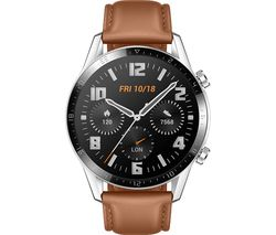 Watch GT 2 Classic - 46 mm, Pebble Brown